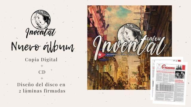 """""""Invental"""" + Diseño del disco en 2 láminas"""