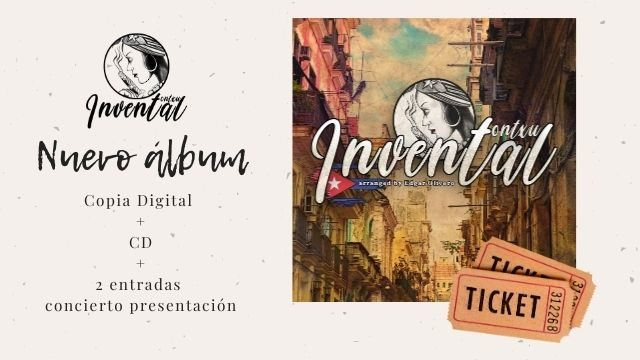"""""""Invental"""" + 2 entradas concierto presentación Madrid"""