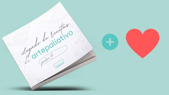 Libro de recetas + Aportación solidaria + Agradecimiento