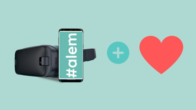 Gafas RV + Experiencia #alem + agradecimientos