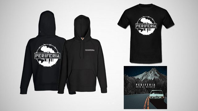 PACK completo (Sudadera + Camiseta + CD)