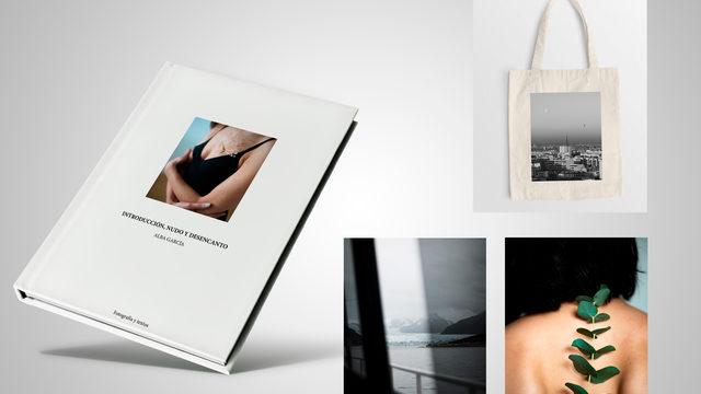 Libro + Foto impresa + Bolsa de tela