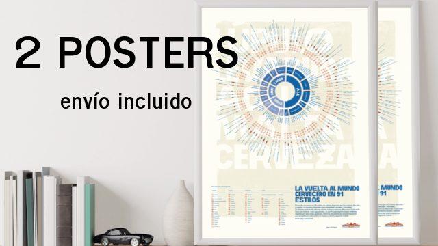 2 posters (con envío)