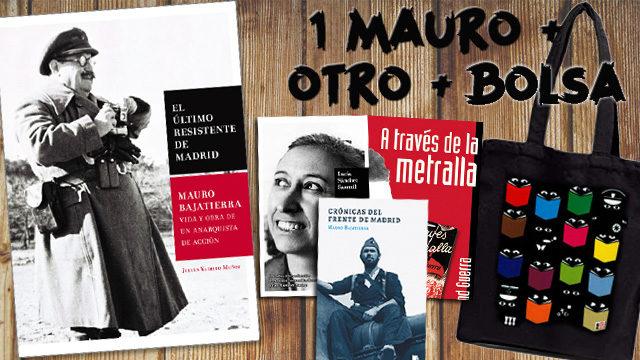 1 Mauro + 1 libro a elegir + Bolsa de tela