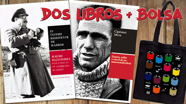 1 Mauro + 1 libro de Cipriano Mera + Bolsa