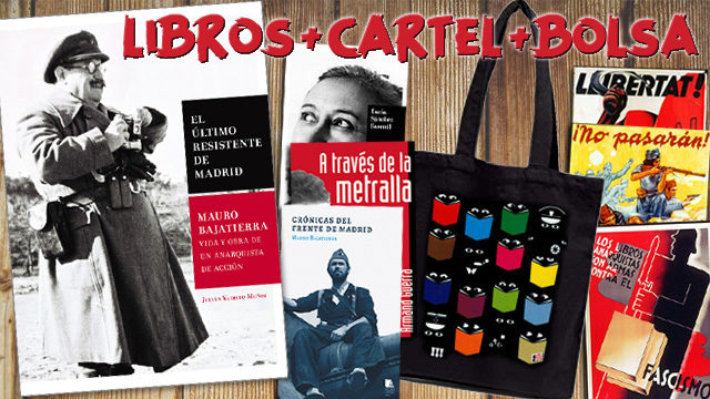 1 Mauro + 1 libro a elegir + Cartel + Bolsa