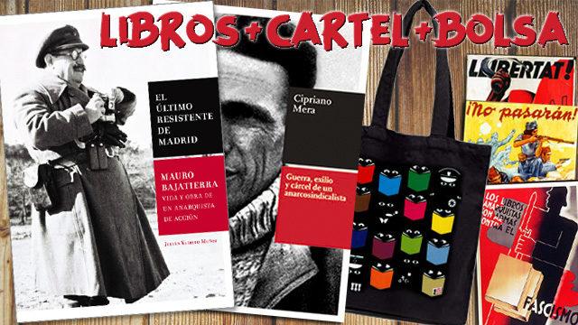 1 libro de Mauro + 1 libro de Cipriano mera + Bolsa + Cartel