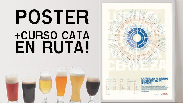 Póster + CursoCata ¡EN RUTA!