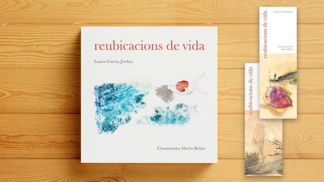 Pack of 10 copies of REUBICACIONS DE VIDA + 10 bookmarks