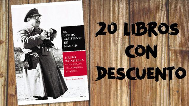 20 libros con descuento