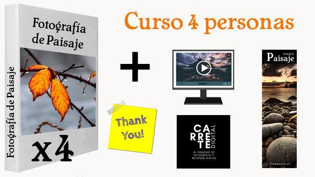 4 Libros + Curso personalizado