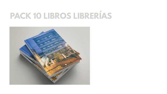PACK 10 LIBROS LIBRERÍAS