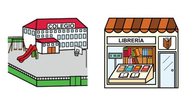 Pack coles y librerías (5 libros)