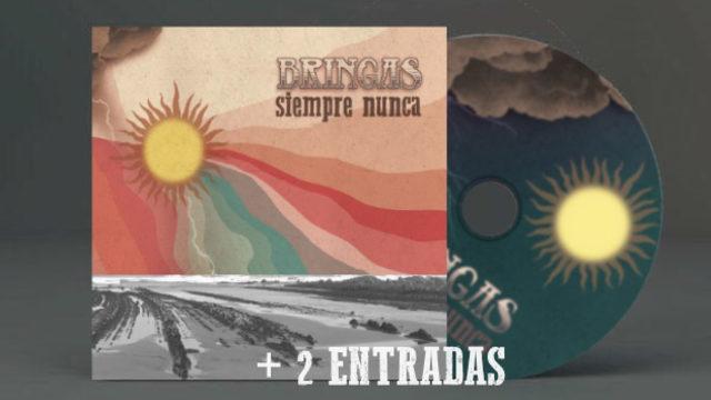 CD FIRMADO + 2 ENTRADAS