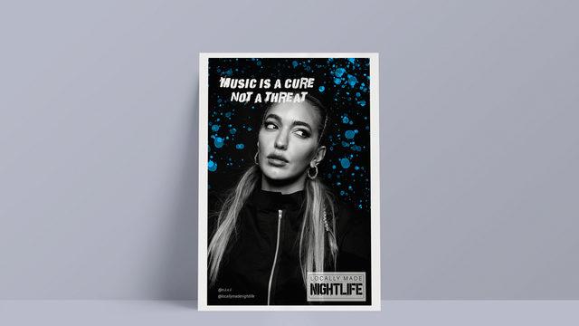 Pegatina + poster A4 o A3