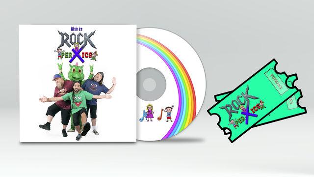 Entrada al concert i Digipack CD
