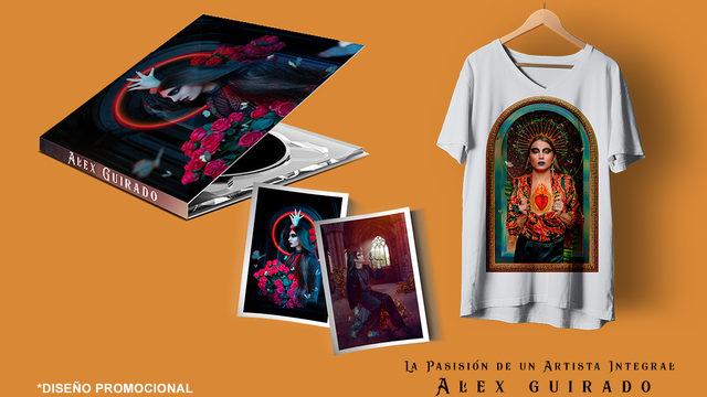 CD + Camiseta + Estampita