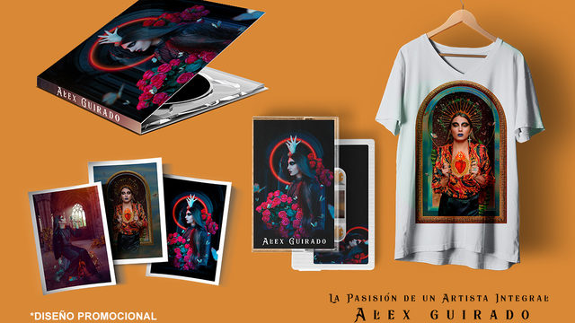 CD + Camiseta + Estampitas + Cassette