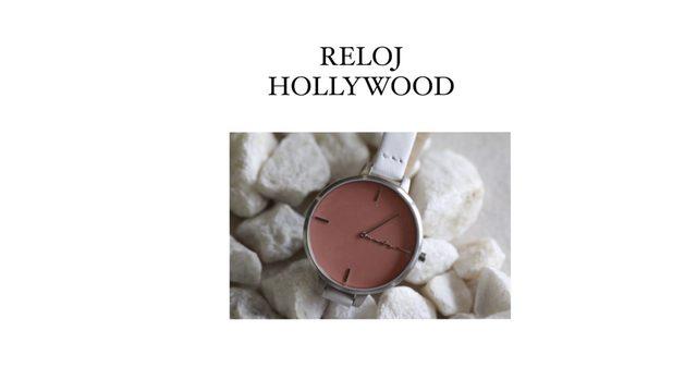 RELOJ HOLLYWOOD