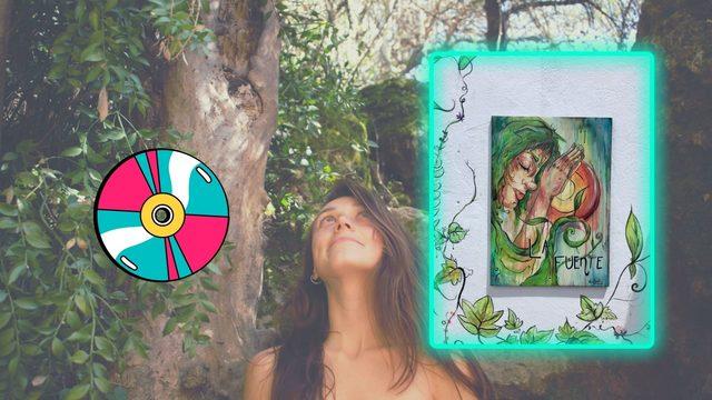 CD + Cuadro en madera de Nia Dahl