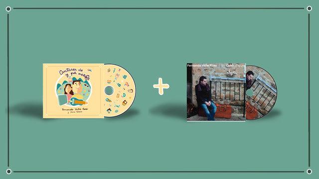 NUEVU DISCU + CD I + AGRADECIMIENTU + ENVÍU