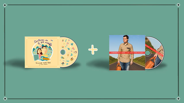 NUEVU DISCU + CD II + AGRADECIMIENTU + ENVÍU