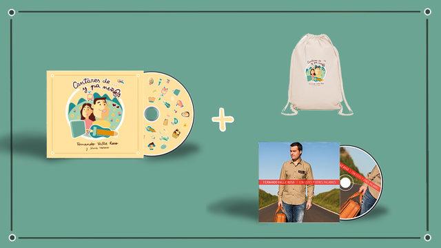 NUEVU DISCU + CD II + BOLSA + AGRADECIMIENTU + ENVÍU