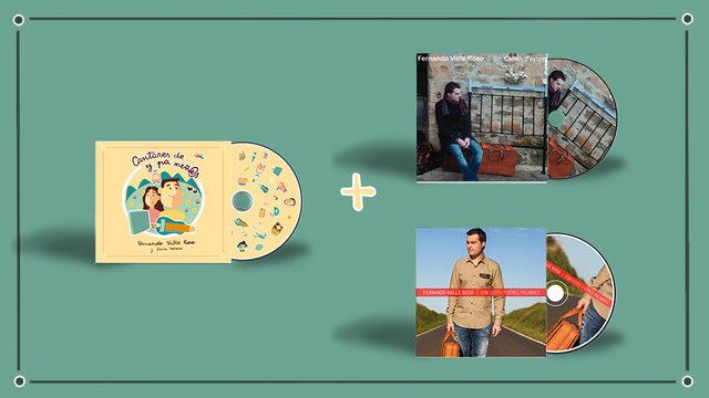NUEVU DISCU + CD I + CD II + AGRADACIMIENTU + ENVÍU