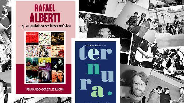 """Libro """"PABLO NERUDA ...Y SU PALABRA SE HIZO MÚSICA"""" + Libro """"REIVINDICACIÓN DE LA TERNURA"""" + 25 FOTOGRAFIAS ORIGINALES sobre la historia de la """"Canción de Autor"""""""