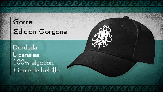 [ADD-ON] Gorra bordada Edición Gorgona