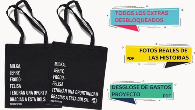x2 La Tote Bag que Salva Vidas