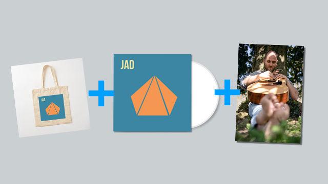JAD Disco con bolsa de regalo y POSTER