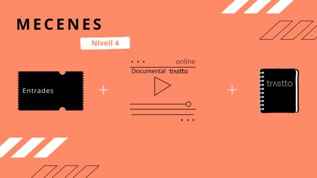 Entrada evento de presentación + Documental (Formato online) + Libreta trustto