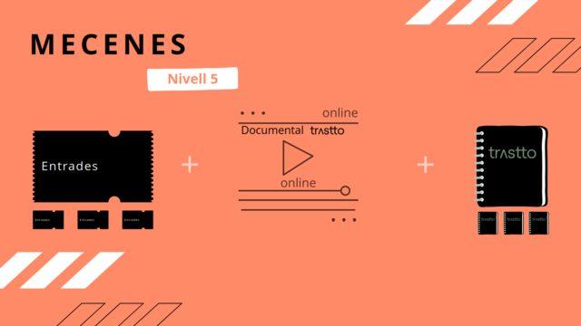 Pack familiar: 4 Entradas evento de presentación + Documental (Formato online) + 4 Libretas trustto