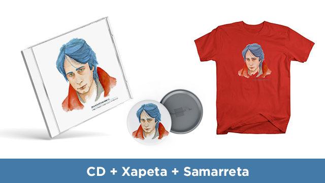 CD + Xapa + Samarreta