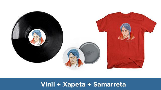 Vinil + Xapa + Samarreta