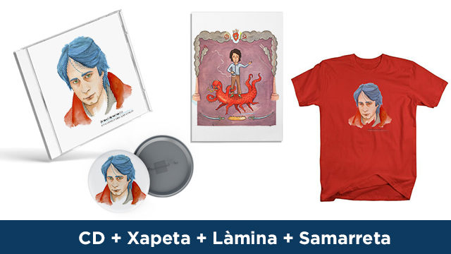CD + Xapa + Làmina + Samarreta