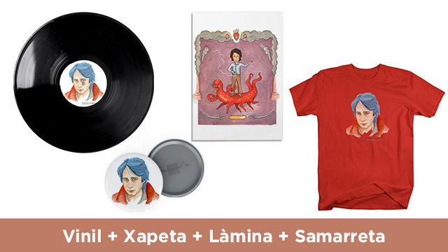 Vinil + Xapa + Làmina + Samarreta