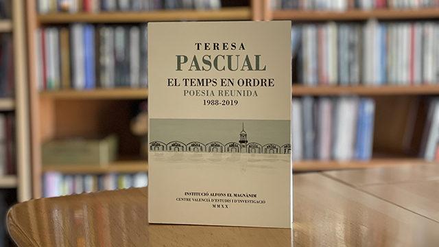 Recompensa temporal: 'El temps en ordre' firmado por Teresa Pascual