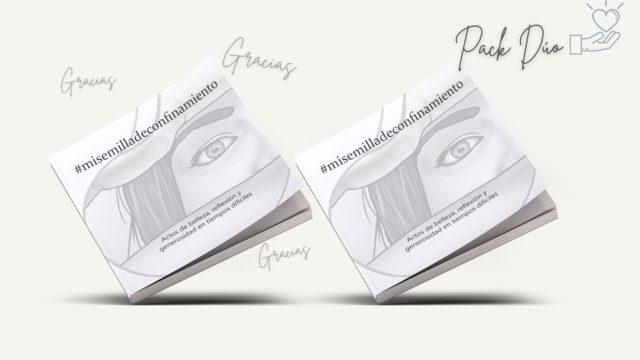 Pack DÚO: Libro #misemilladeconfinamiento + Libro para regalar