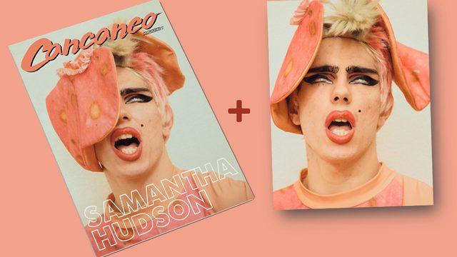 "Cancaneo Magazine  + Póster exclusivo ""Samantha Hudson"""