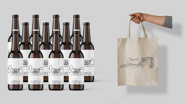 Paquet 12 cerveses Ocaive Rubia - Marina Alta