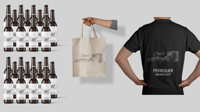 Paquet 24 cerveses Ocaive Rubia + Camiseta - Marina Alta