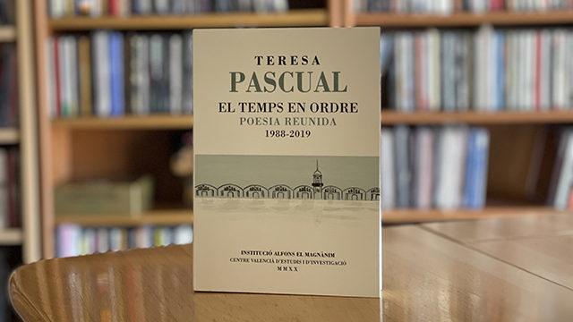 'El temps en ordre' firmado por Teresa Pascual