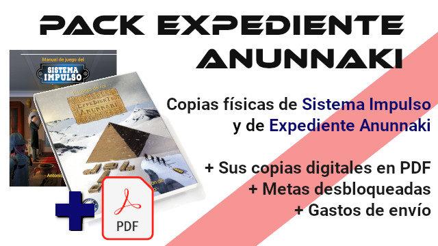 Pack Expediente Anunnaki
