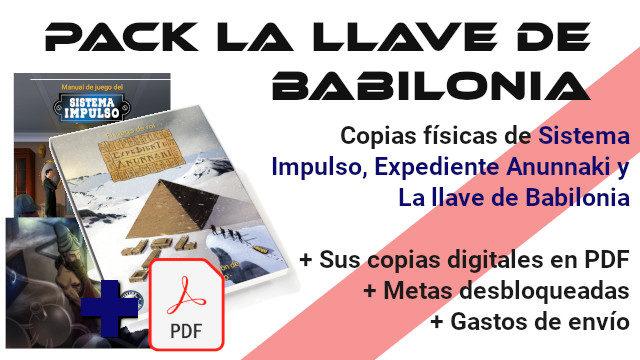 Pack La Llave de Babilonia