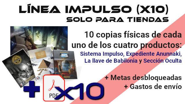 Línea Impulso x10 (solo para tiendas)