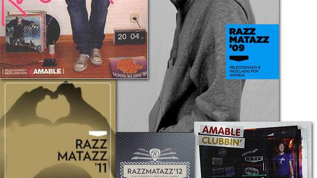 Pack de Cds By Dj Amable: Razzmatazz 09, 11, 12 y Amable Clubbin' + visionado del documental online.