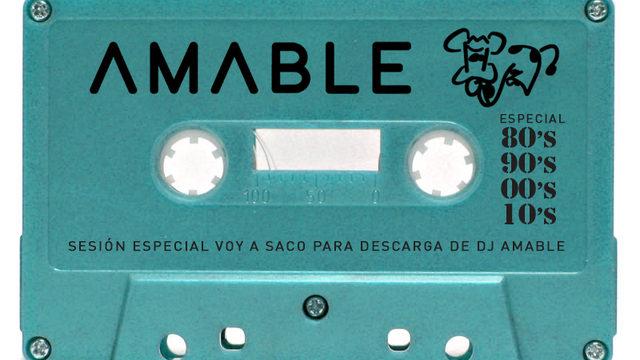 Pack de sesiones para descarga de Dj Amable 80s, 90s, 00s y 10s + Visionado del documental online + Agradecimiento en los créditos