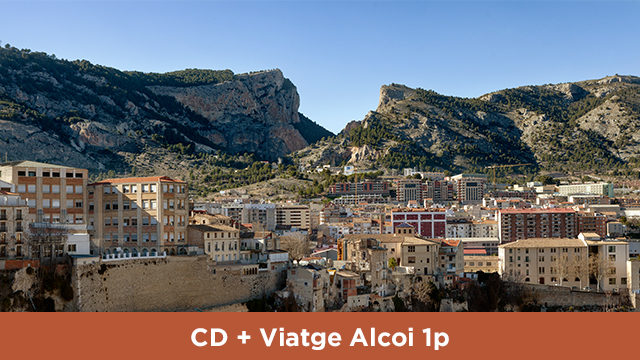 CD + Viatge a Alcoi 1 persona